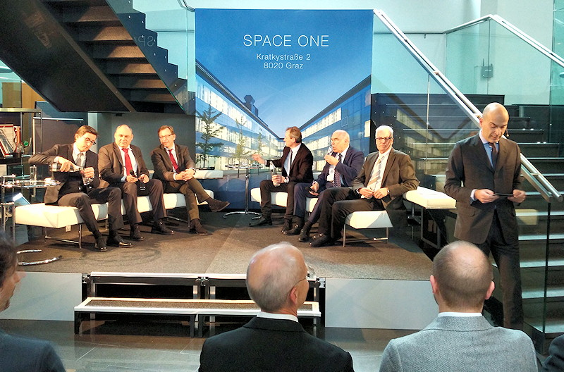 Podiumsdiskussion Eröffnung SPACE ONE
